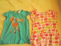 Bundle of x12 items, size 9-12 months girls baby clothes, minnie mouse, boots, h+m etc