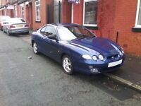 HYUNDAI COUPE 2001 BARGAIN SALE £95! STARTS DRIVES JUST NEEDS MOT VERY LITTLE WORK. 1st TO SEE BUYS