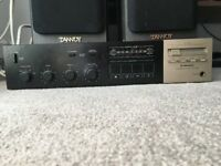 Pioneer SA-530 with 2x Tannoy hi-fi speakers