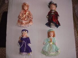 Miniture Collectable Dolls