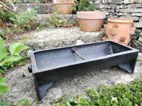 Vintage Cast Iron Animal Feed Trough/Garden Planter