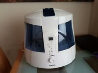 Homedics HUM-20 Warm and Cool Mist Ultrasonic UV-C Humidifier