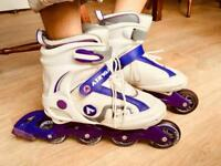 UK Size 3-4 inline skates by airwalk