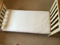 Cotbed- Rochester from Mothercare with mattress