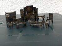 Antique Reproduction Chinese Dolls Furniture