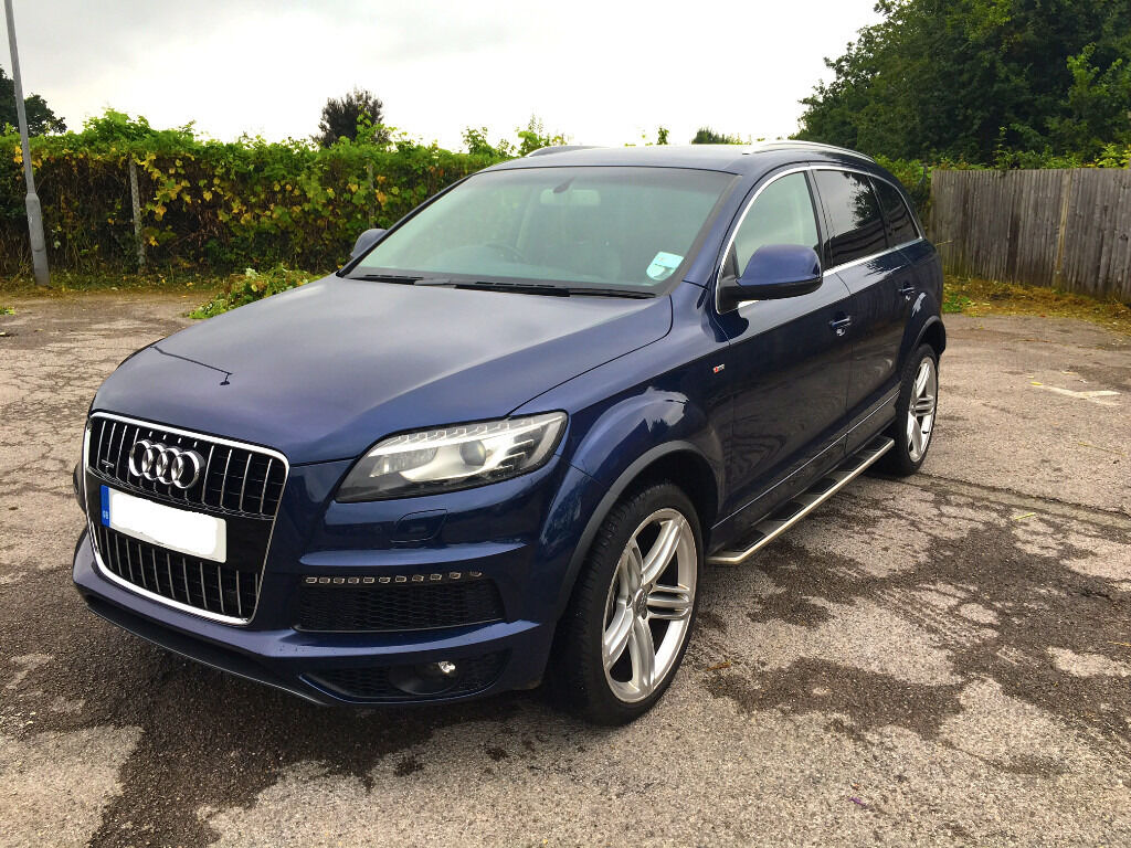 2010 audi q7 4 2l tdi s line tiptronic quattro 5dr 6 seats 335hp very rare car in wimbledon. Black Bedroom Furniture Sets. Home Design Ideas