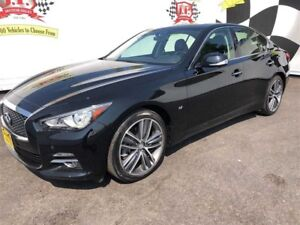 2015 Infiniti Q50 Automatic, Navigation, Leather, Sunroof, AWD