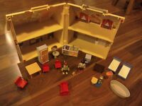 Playmobil take along dolls house with accessories
