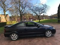 VAUXHALL ASTRA 2.2 BERTONE PETROL 53 REG 12 MONTHS MOT CD PLAYER ALLOYS AIR CON 36+ MPG
