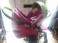Mams & Papas Luna Mix pushchair, carseat & accessories