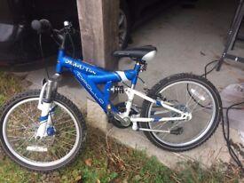 "Apollo Demolition Kid's Bike, 20"" wheels"