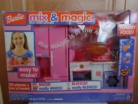 BARBIE - KITCHEN MIX SET (BATTERY OPERATED) - VINTAGE