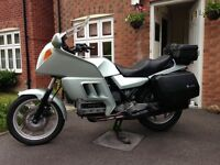 BMW K100RT, 1985, Lots of history.