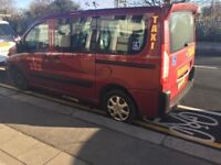 PEUGEOT E7 TAXI FOR SALE, WHEELCHAIR ACCESSIBLE, CHEAPEST ON GUMTREE