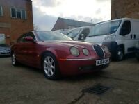 2005 54 Jaguar S Type Diesel Auto - Sat Nav - Leather Seats - 3 Month Warranty