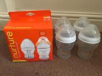 BRAND NEW VITAL BABY ANTI-COLIC bottles