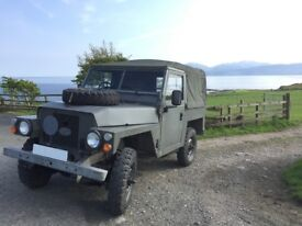 Land Rover Lightweight (Air Portable) Series III Petrol 1983 Galvanised Chassis