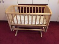 ** reduced** Mothercare Deluxe Gliding Crib, Exc. Cond.