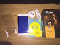 "Bush Spira D3 5.5"" Smartphone *MINT! SIM Free"