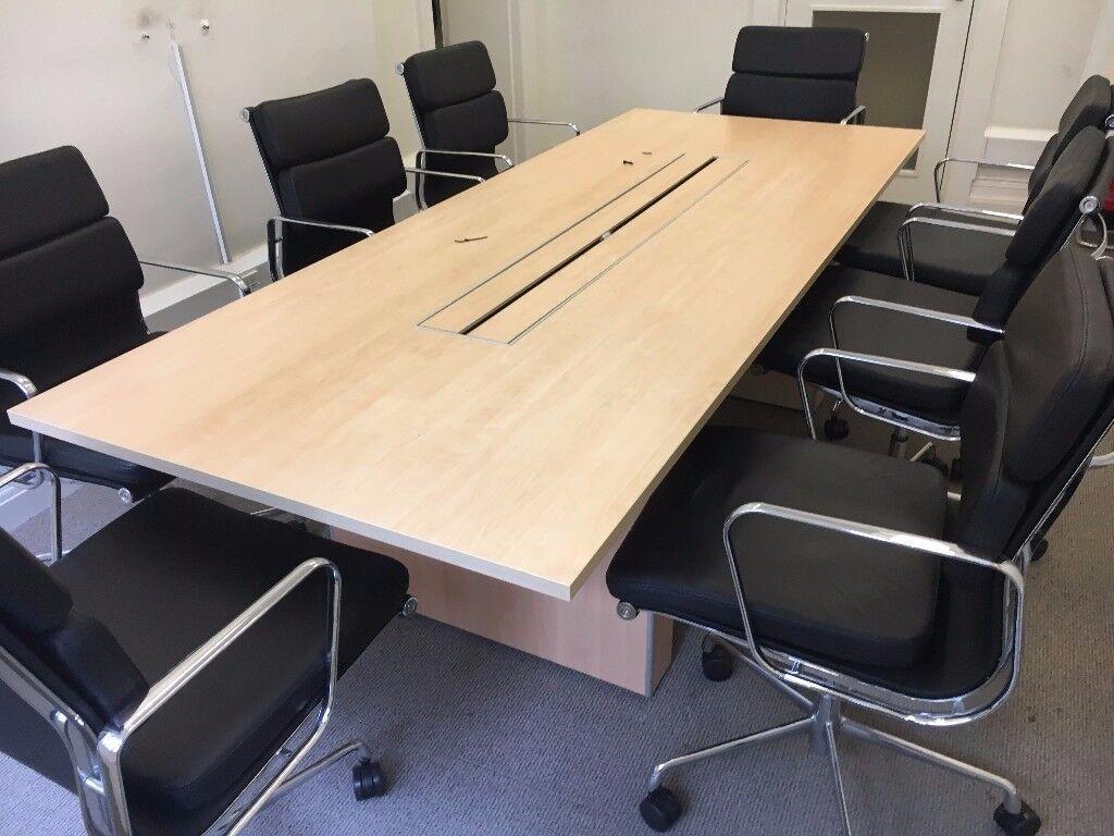 office furniture 2.6 meter boardroom table