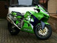 1999 ZX6R LOW MILAGE 7.6K MAY PX/SWAP BIGGER BIKE OR CAR