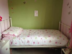 Next girls bedroom curtains and matching bedset
