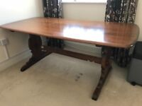 Large Ercol Dining Table