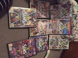 Sims 3 Main Game & Expansion packs bundle