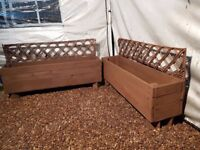 HANDMADE EX DISPLAY PLANTERS *REDUCED* NEED GONE ASAP