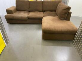 Next fabric L shape sofa •free delivery