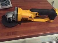 DeWalt grinder cordless brushless 18V
