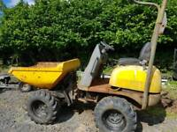 1 ton high lift dumper