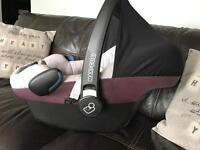 Maxi cosi Pebble baby car seat 0+