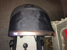 Brand New Mothercare Orb Carrycot black&rose gold