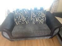 Large 2 and 2 seater sofa