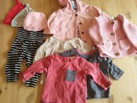 Baby girl clothes bundle. Newborn & 0-3 months