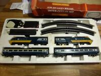 HORNBY INTER CITY 125 TRAIN SET 1980s BOXED