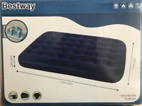 Bestway Air Bed - Double Bed - with Pump - New/Unused