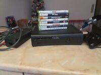 EXELLENT CONDITION XBOX 360 + BIG BUNDLE OF GAMES !!