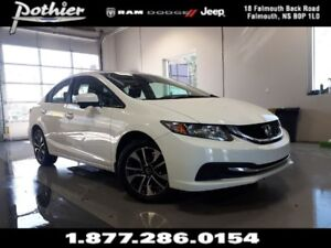 2015 Honda Civic EX | 5 SPEED MANUAL | HEATED SEATS | ALLOY WHEE