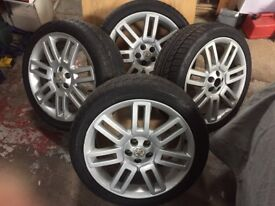 MG ZT or Rover 75 Winter Tyre's and 18 inch grid spoke alloys