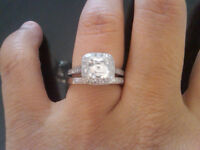 3 Carat Tiffany Engagement Ring for Sale