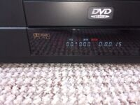 DVD player + 150 movies, great condition