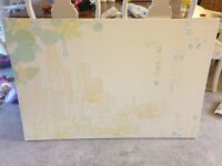 Ikea cityscape canvas picture - Free to collect