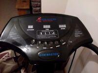 Gym vibrating plate