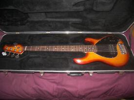 MusicMan / Music Man Bass Guitar Hard Case.