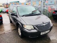 CHRYSLER GRAND VOYAGER AUTOMATIC LIMITED XS PETROL 3.3 7 SEATERS LEATHER SATNAV STOW N GO