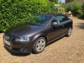 Audi A3 1.8 TFSI Convertible - 95500 Miles - Full Audi Service History - 10 Months MOT - 3 Keepers