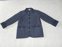 Daxon Quilted jacket. Blue. Ladies size 16