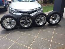 VE SS  245/45  r18 - Rims and tryes - Good condition Redland Bay Redland Area Preview